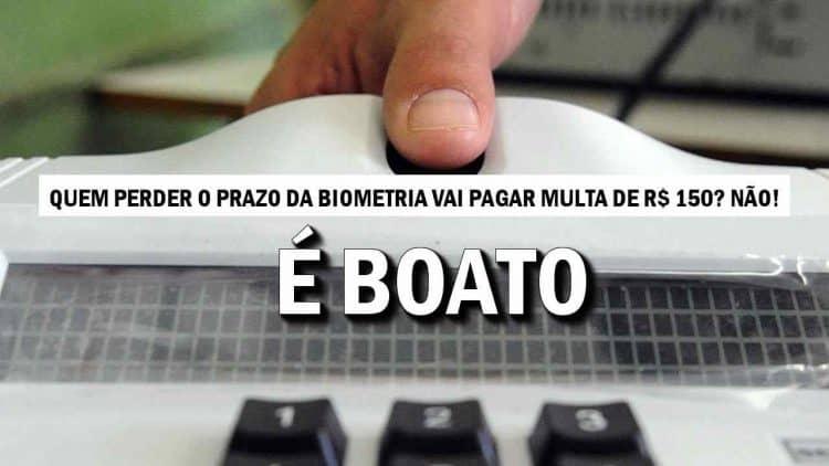biometria eleitoral prazo 2019