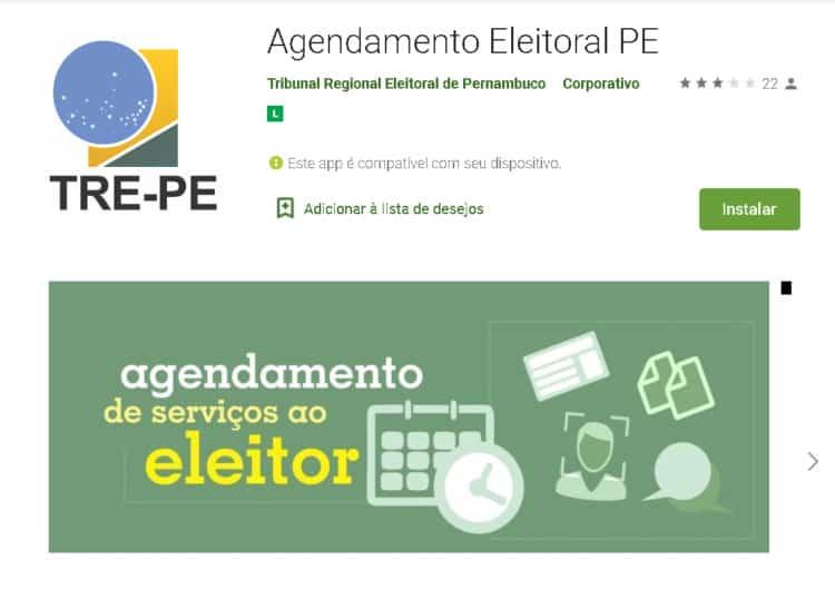 agendamento biometria eleitoral