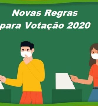 novas regras da votacao 2020